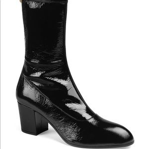 Gucci Printyl Patent Leather Boots